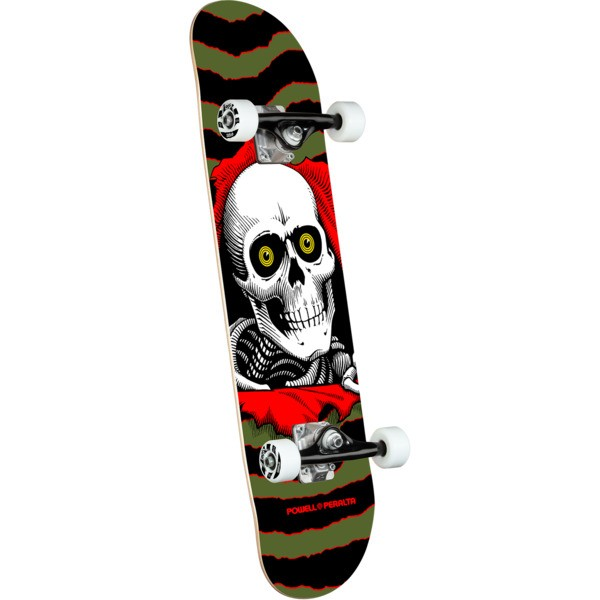 Скейтборд POWELL PERALTA Ripper One Off Olive 7 дюймов