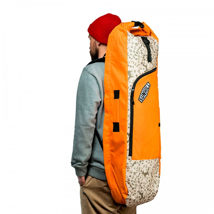 Чехол для лонгборда SUNHILL Long Pack Orange/Yellow