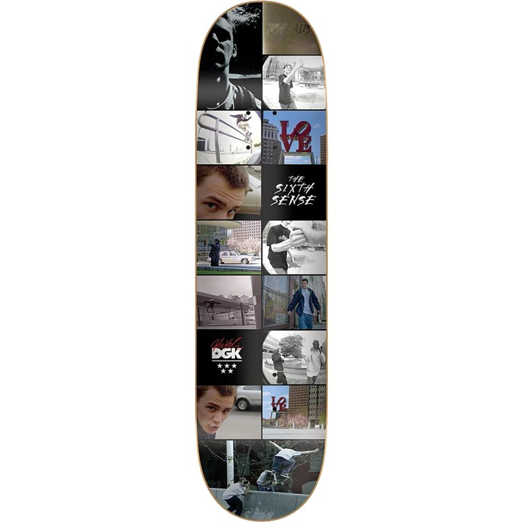 Дека для скейтборда DGK The Sixth Sense Kalis Deck 8.25 дюйм  2020