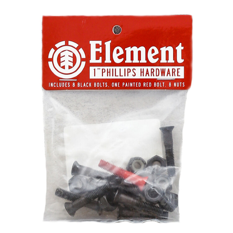 Болты для скейтборда ELEMENT Phlips Hdwr 1 дюйм 2021