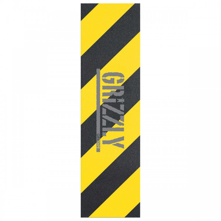 Шкурка для скейтборда GRIZZLY Hazard Stamp Grip Yellow 2020