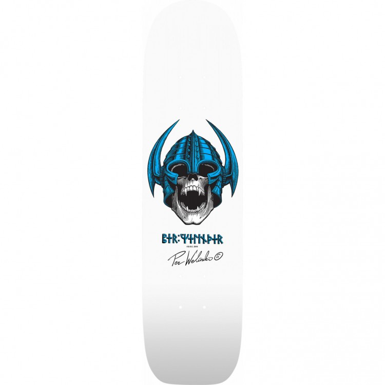Дека для скейтборда POWELL PERALTA O.G. Welinder Freestyle White 7.25 дюйм