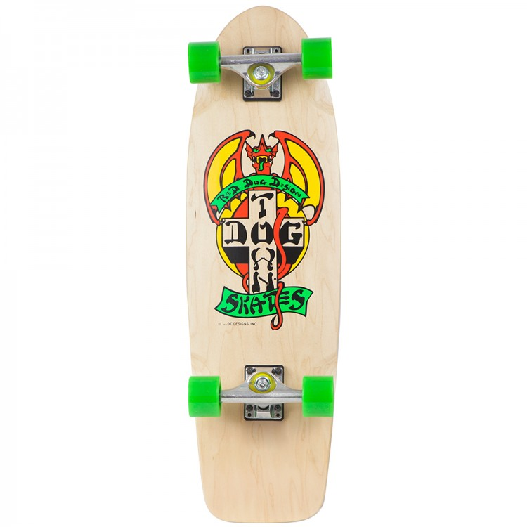 Комплект лонгборд DOG TOWN Og Classic Pc Tail Tap Skateboard Complete 30""