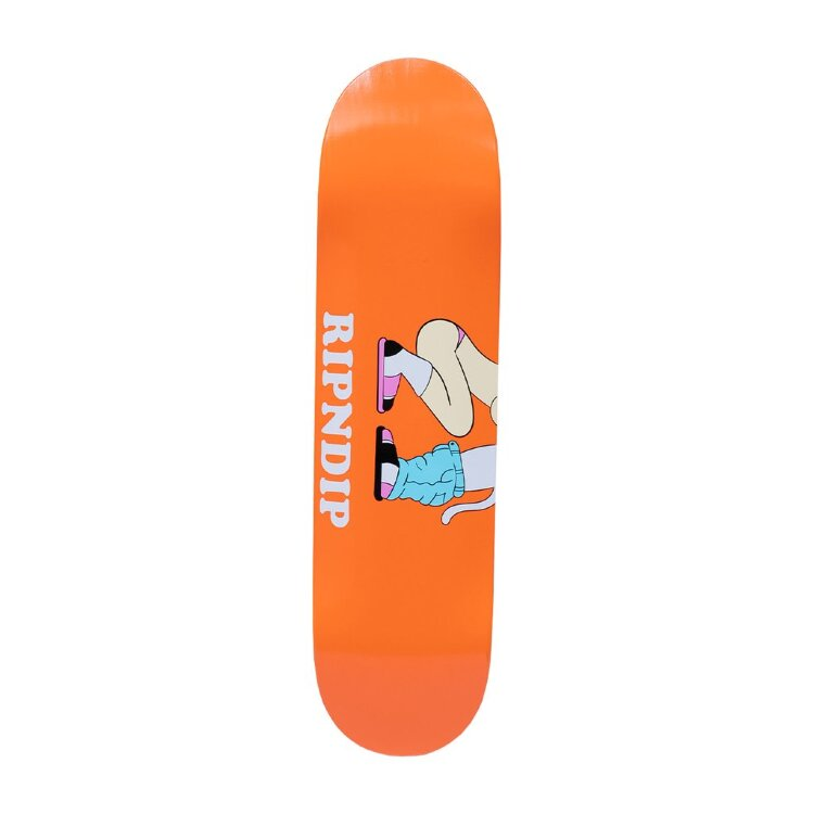 Дека для скейтборда RIPNDIP Must Be Riding Board Orange 8.5 Дюймов 2021